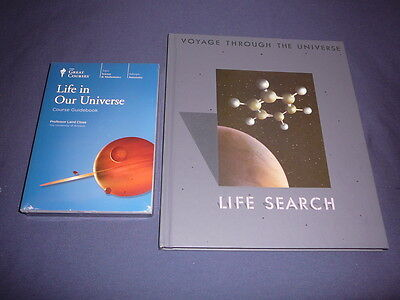 Teaching Co Great Courses  DVDs          LIFE  IN  OUR  UNIVERSE    new  + BONUS