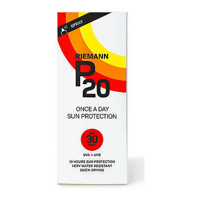 Riemann P20 SPF 30 100ml Once A Day Sun Protection Spray