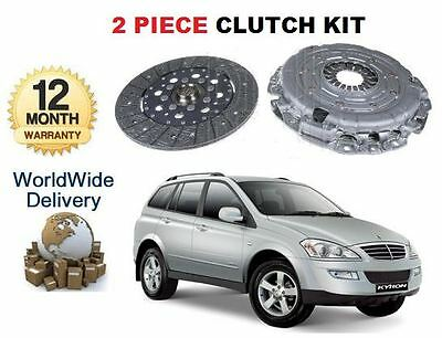 For Ssangyong Kyron 2.0 Td Diesel 2006-> New 2 Piece Clutch Kit *oe Quality*