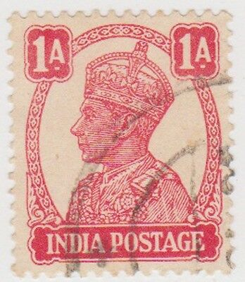 Stamp(I112) 1940 INDIA 1 a red GV ow268