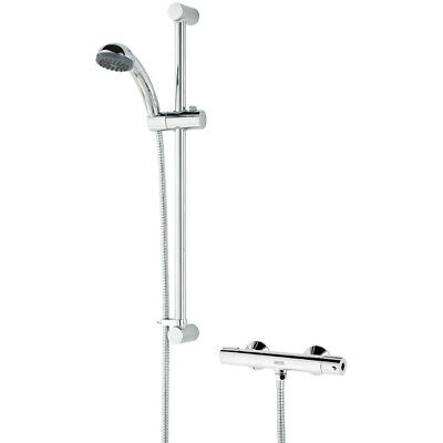 BRISTAN Zing Cool Touch Thermostatic Bar Shower c/w Kit, Chrome, ZI SHXSMCT C