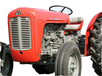 Massey Ferguson MF35 Tractor:WOKSHOP-PARTS-OPERATOR-ENGINE-HYDRA PUMP Manuals CD