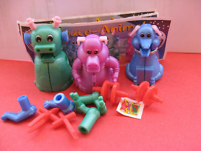 SPACE ANIMALS   serie completa + TUTTE CARTINE KINDER GERMANIA