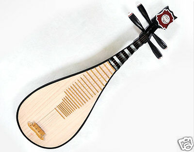 Quality Brand New Travel Size Pipa Instrument Chinese Lute Guitar W/ Accessories