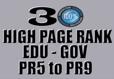 30 Profile Links from EDU and GOV from PR5-PR9  ,All Dofollow Backlinks ! SEO !