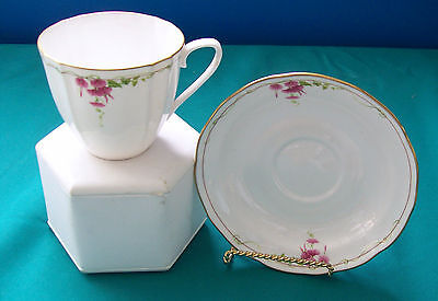 Spode Cup and Saucer, Rosetti , Pattern,New -Made In England