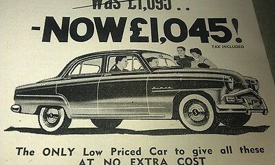 1959 SIMCA ARONDE   Australian Sales Advert
