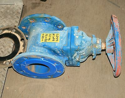 AVK 4 inch  MANUALLY ACTUATED RESILIENT SEAT GATE VALVE in good used condition