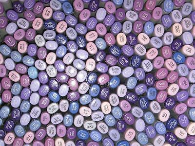 Copic Sketch Markers - Passionate Purples Set Of 9 Markers Violet Lilac