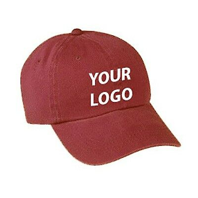 Baseball Caps YOUR LOGO custom embroidered 480 pieces!