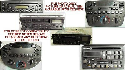 95 96 97 98 99 00 TAHOE CD player (remote), single disc