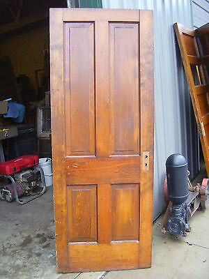 1 Raised Panel PINE door Original