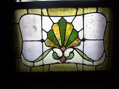Green & Yellow Stained glass txtured (SG 1036)