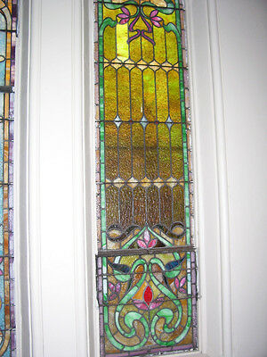 /// Church AnTiQuE \ STAINED GLASS //indo//  ~circa 1905~    (SG891)