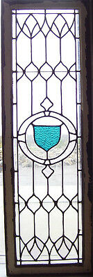 STAINED & Textured GLASS Window  - Leaded - Antique - (SG851)