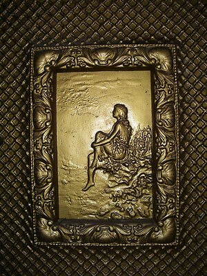 FIRE FRONT - Antique - Retrospective WOMAN for your fireplace    FP26