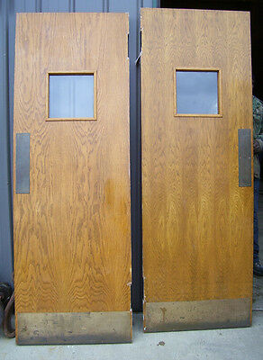 DOUBLE DOORS - for Passage - OAK with veneer   (D 55)