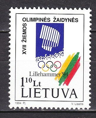 LITHUANIA  1994 **MNH SC# 478 Winter Olympics Games - Lillehammer