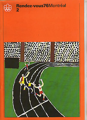 Orig.Bulletin   Olympic Games MONTREAL 1976 // Number 2 from 1974  !!  VERY RARE