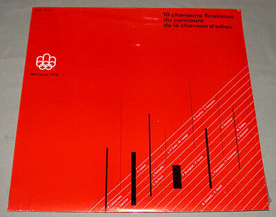 Orig.Record   Olympic Games MONTREAL 1976 - Special Edition  !!   VERY RARE