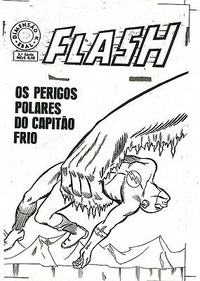 Flash COVER ART Showcase 8 CAPTAIN COLD Unique Variant Polar Bears Acetate Proof