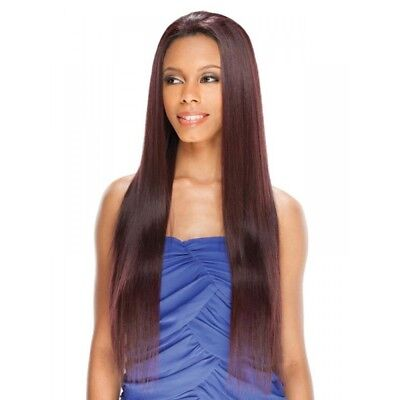 "Amerie 28"" By Freetress Equal Lace Front Wig Straight Long Synthetic"
