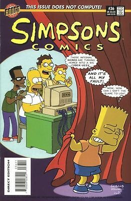 Bongo comics Simpsons #36 36 Bart Homer American Edition NM FREE UK POST