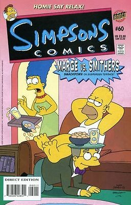 Bongo comics Simpsons #60 60 Bart Homer American Edition NM FREE UK POST
