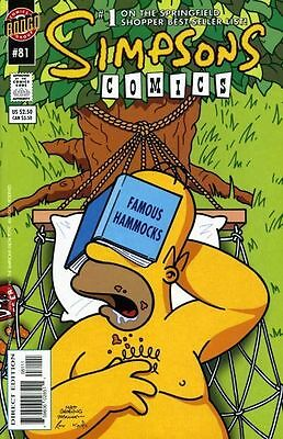 Bongo comics Simpsons #81 81 Bart Homer American Edition NM FREE UK POST
