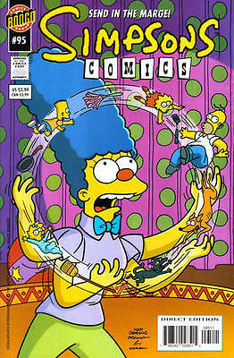Bongo comics Simpsons #95 95  Bart Homer American Edition NM FREE UK POST