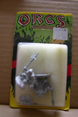 Ral Partha  Orcs,blister  Unopened  #3   #12-0106