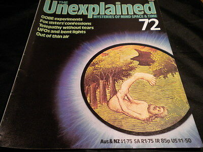 The Unexplained Orbis Issue 72 - OOBEexperiments - fox sister's confessions