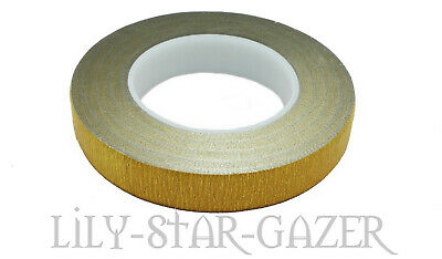 Oasis Stemtex Floristry Tape Metallic Gold - Buttonholes Corsage Bridal Student
