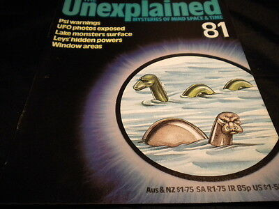 The Unexplained Orbis Issue 81 - psi warnings - ufo photos exposed - lake monste