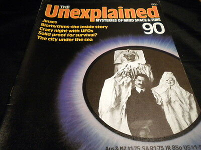 The Unexplained Orbis Issue 90 - Jinxes - biorhythms the inside story - crazy uf