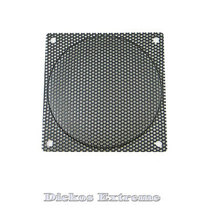 120mm Black mesh wire Fan Grill / Finger Guard - 2.2mm Hole