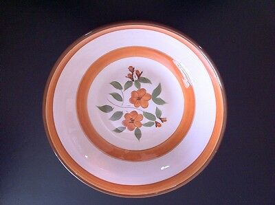 Stangl Pottery Serving Bowl In Bitttersweet Pattern