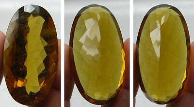 119.75ct or 23.95g Brazil Natural Yellow Beryl Heliodor Facet Gemstone I - SI