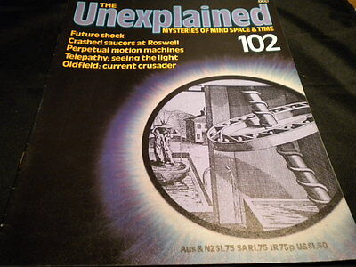 The Unexplained Orbis Issue 102 - future shock - crashed saucers at roswell