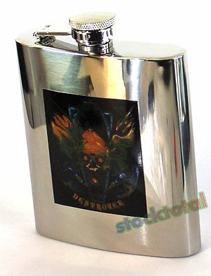 Petaca 8 Onzas Acero Inox Destroyer Steel Flask 40049 M13