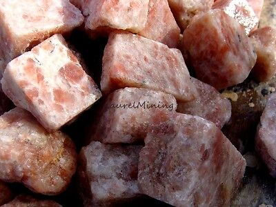 Natural Russian SUNSTONE - 2000 Carats - Lapidary Rock Rough - Feldspar Quartz