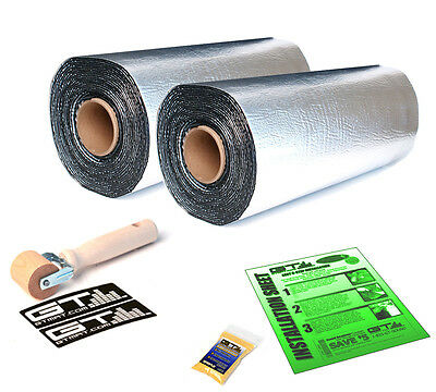 50sqft GTmat Pro Sound Deadener for Chevrolet Cadillac Ford GMC Dodge 2-Rolls