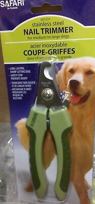 Safari Professional Cippers Dog and Cat Stainless Steel Nail Trimmer Large