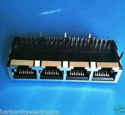Ss-668804S-A-Nf-Ac Stewart 4 Port 32 Contact Female Telecom Datacom Connector