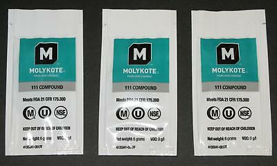 Espresso machine O-ring seal lubricant grease DOW MOLYKOTE 111 - 3 PACK SAVER