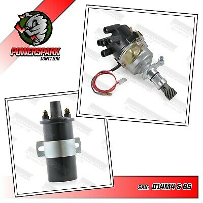Ford X Flow Lotus Twincam standard electronic distributor with ignition coil