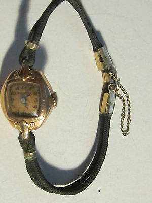Vintage Ladies' Bulova - 14K Rolled Plated Gold - Not Working -