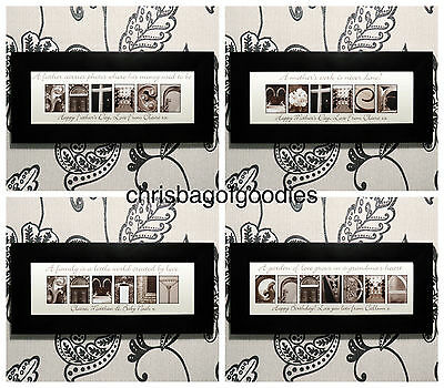 PERSONALISED ART DECO Wall FAMILY Word Art Print Pictures Gifts for the Home New