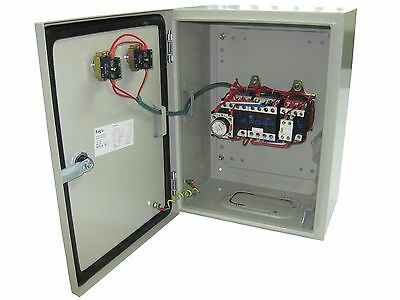 Star Delta motor starters 3 phase 7.5Kw 415V Enclosed inc overload