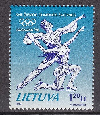 LITHUANIA 1998**MNH SC# 591 Winter Olympic Games - Nagano